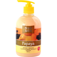 Fresh Juice Cream-soap - Papaya