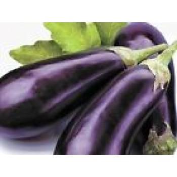 Eggplant seeds Long Pop Organic Heirloom Vegetable Seed from Ukraine