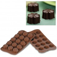 Mouse over image to zoom SilikoMart Easy Choc Mold FLEURY Flowers Silicone Chocolate Candy Ice Soap Mould