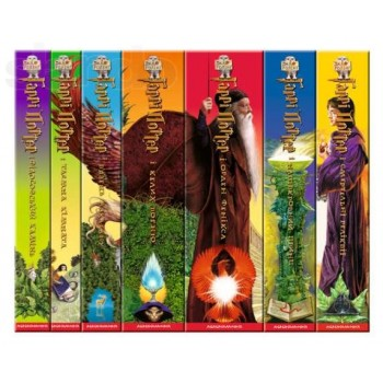 HARRY POTTER ALL 7 BOOKS 100% ORIGINAL BOOK UKRAINIAN Language BRAND NEW