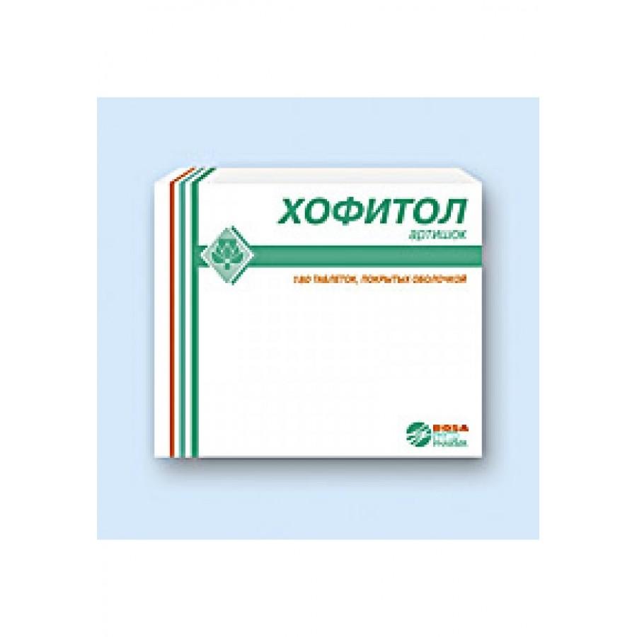 Hofitol: indications for the use of this drug