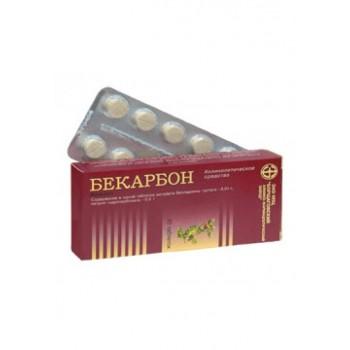 Becarbon tablets #20