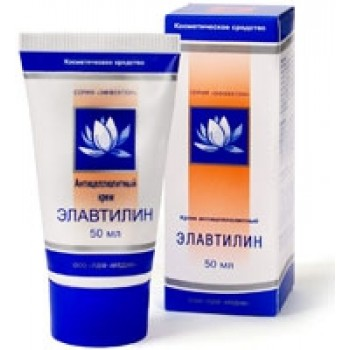 ELAVTILIN Cream for reducing cellulite for Denas. .