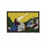 Agony in the Garden Hand Embroidered Icon