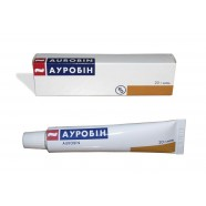 AUROBIN OINTMENT HAEMORRHOIDS piles 20g АУРОБИН Available without a prescription