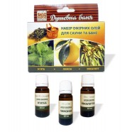 Essential Oil Set : Lemon , Peppermint , Eucalyptus