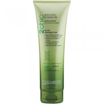 "2CHIC AVOCADO & OLIVE OIL ULTRA-MOIST SHAMPOO BY ""GIOVANNI"""