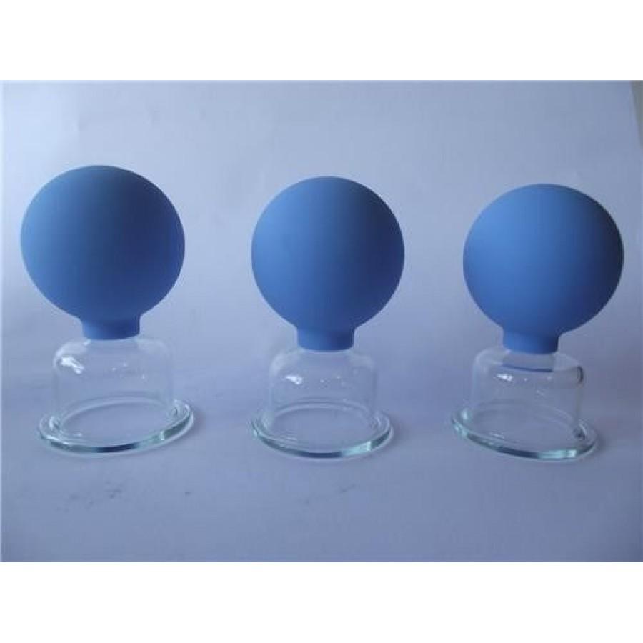 anti cellulite vacuum massage cups brand new set of 3. Black Bedroom Furniture Sets. Home Design Ideas