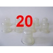 ANTI-CELLULITE VACUUM MASSAGE SILICONE CUPS NEW SET 20