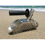 New Beach Sand Scoop with handle Metal Detecting Tool Stainless Steel Detector