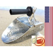 New Scoop Detecting Metal Beach Sand Scoops Water with Handle Detector Kit Best