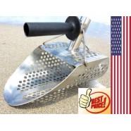 New Scoop Detecting Metal Beach Sand Scoops Water with Handle Detector Kit Best
